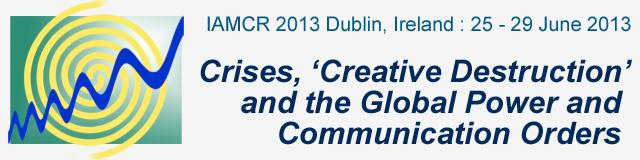 IAMCR 2013 Dublin
