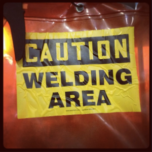 Community hackerspace Sector67, where the fun often involves a blowtorch.