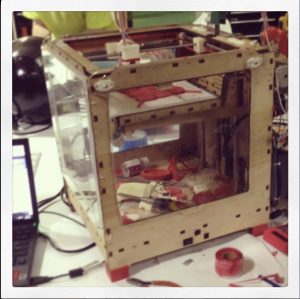 One of several printers at Sector67.