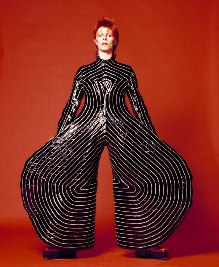 Striped_bodysuit_for_Aladdin_Sane_tour_1973_Design_by_Kansai_Yamamoto_Photograph_by_Masayoshi_Sukita__Sukita_The_David_Bowie_Archive_2012